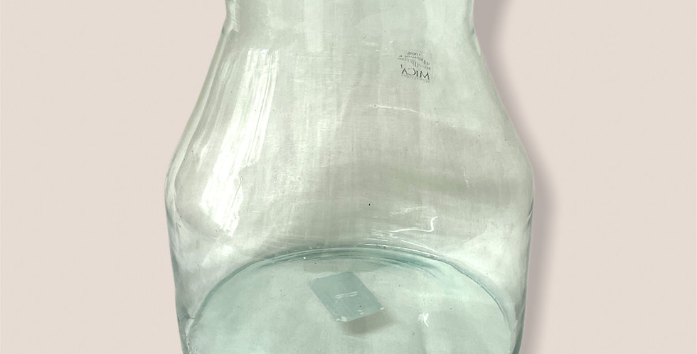 Velká transparentní váza / set 4ks