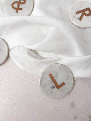 Mramorový podtácek L