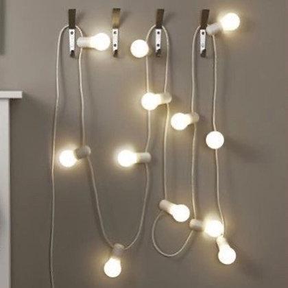 Světelný řetěz - bílý