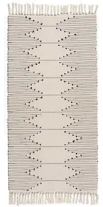 Boho koberec s třásněmi
