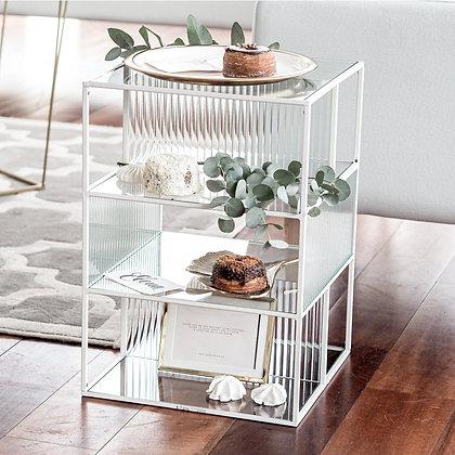 Transparentní mini vitrína