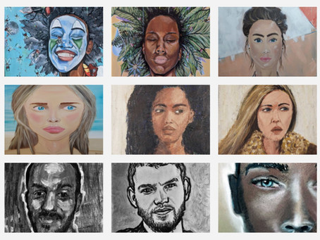 """""""FACES"""" Art Room Gallery"""