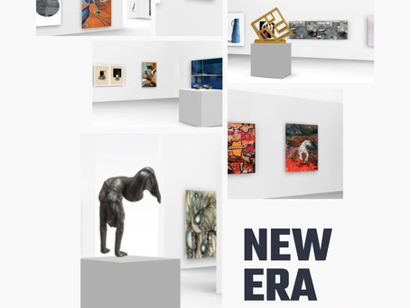 virtual exhibition 'New Era' at the Art Number 23 gallery