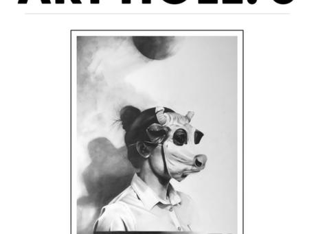 Anastasia is published in Art HOLE6 Magazine
