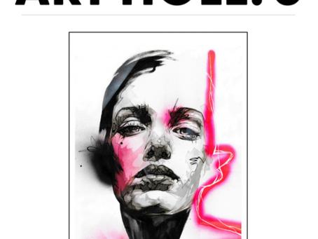 Anastasia Mastilovic is published in Art Hole 5 MAGAZINE