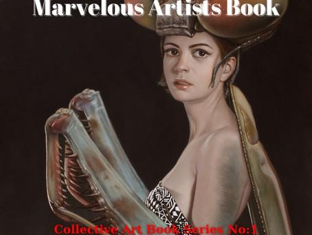 Marvelous Artist's Book: Collective Art Book Series No.1