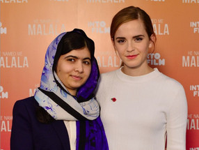 Emma and Malala discuss redefining feminism