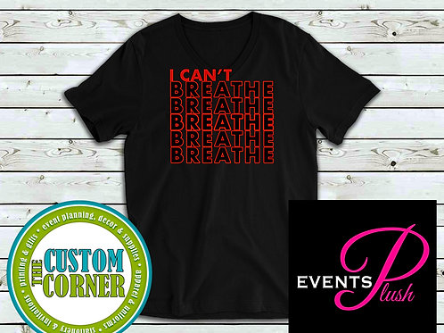 I Can't Breathe Tee (red)