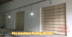 Fire Insulated Rolling Shutter