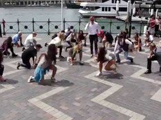 Crazy Domains Flashmob Management: Icon Entertainment Choregrapher: Dion Nuku