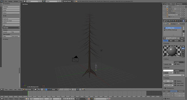 TUTORIAL]: Procedurally placed, cut-able trees in UE4