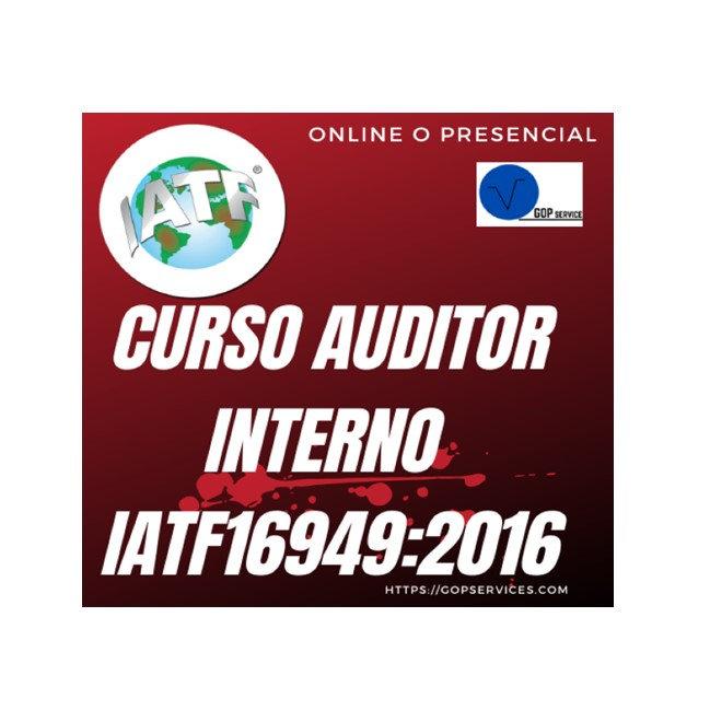 Auditor líder interno IATF 16949:2016