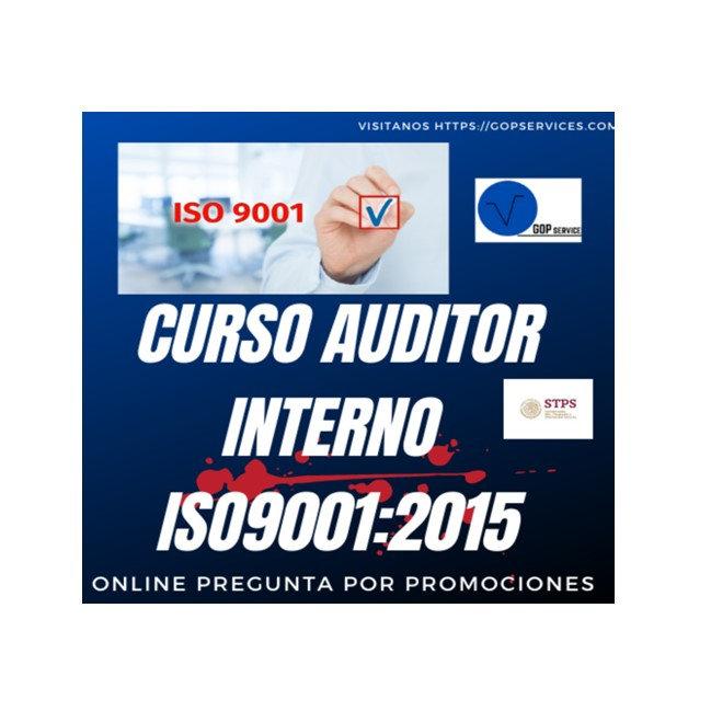 Auditor líder interno ISO 9001:2015