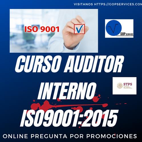 CURSO AUDITOR INTERNO ISO9001