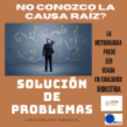 CURSO SOLUCIÓN DE PROBLEMAS EN EQUIPO