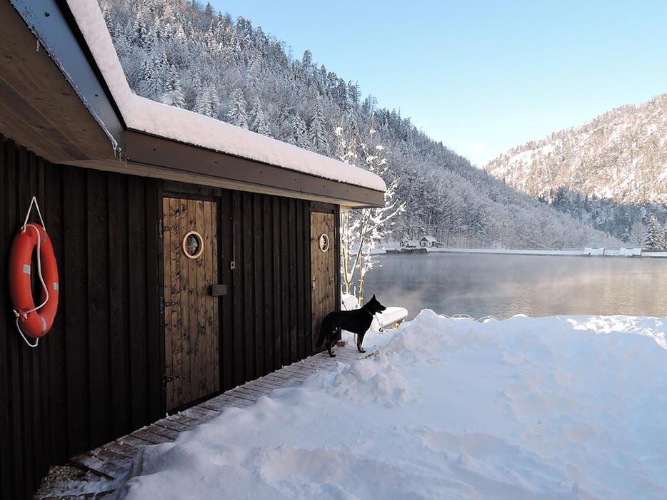 Sauna pri jazere
