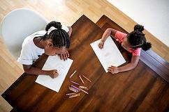 Black girls coloring