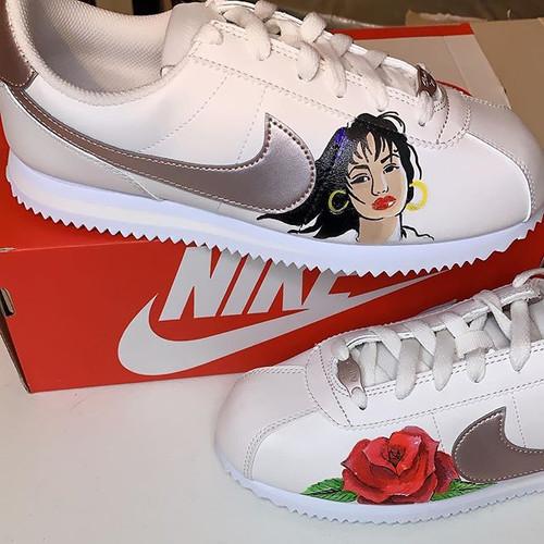 Selena x Nike Cortez