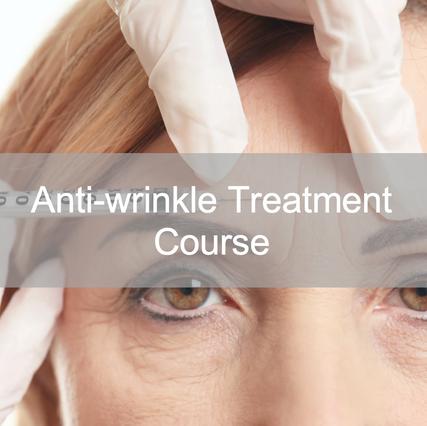 Anti-wrinkle Treatment Course