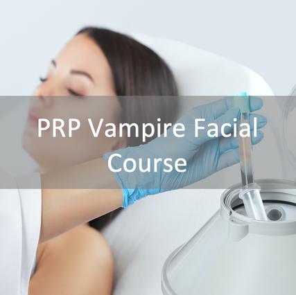 PRP Vampire Facial Course