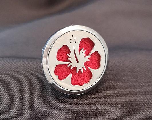 Hibiscus Flower Vent Clip