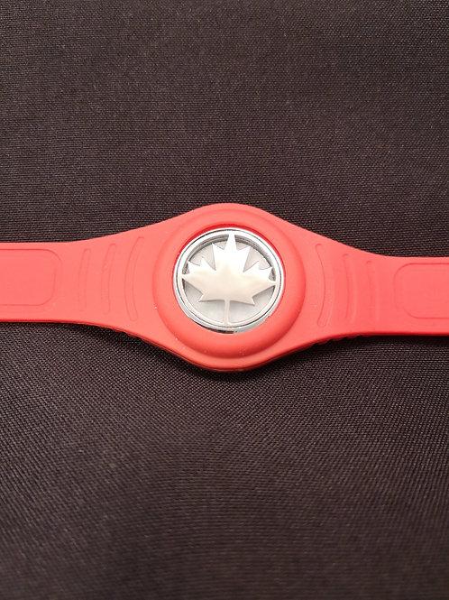 Maple Leaf Silicone Bracelet