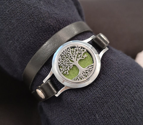 Tree of Life on Faux Leather