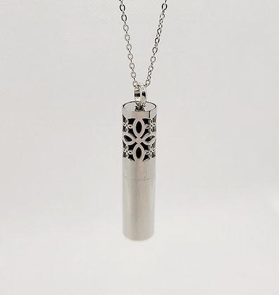 Scroll Design Bottle Pendant