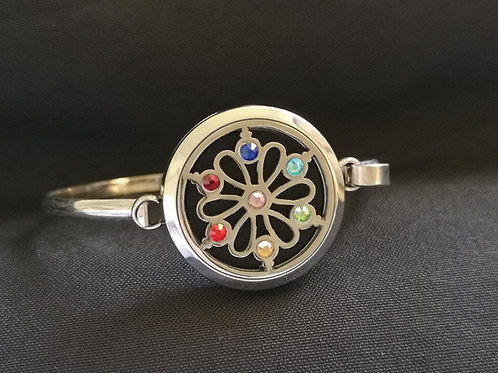 Chakra Crystal Bangle