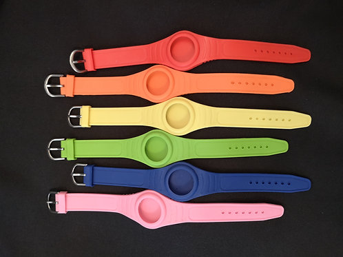 Silicone Watch-Style Bracelet Band