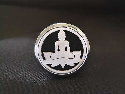 Buddha with Lotus Vent Clip