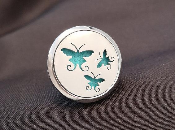 Butterflies Vent Clip
