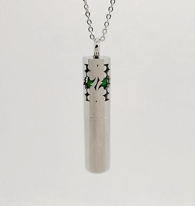 Clover Design Bottle Pendant