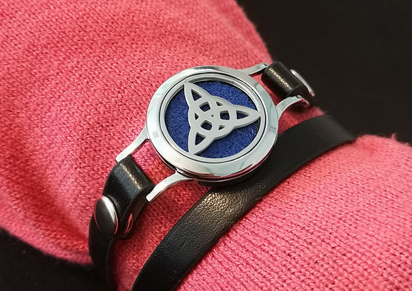 Celtic Knot on Faux Leather