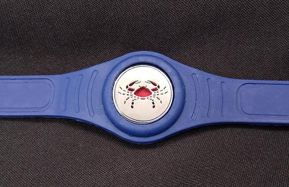 Crab Silicone Bracelet