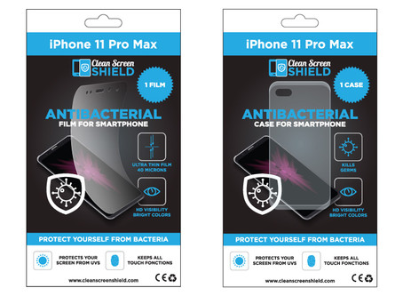 Introducing our antibacterial films and cases for smartphones