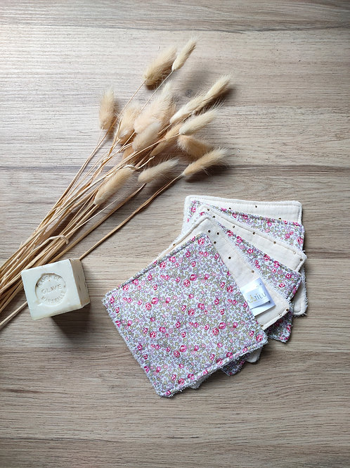 Cotons lavable liberty rose