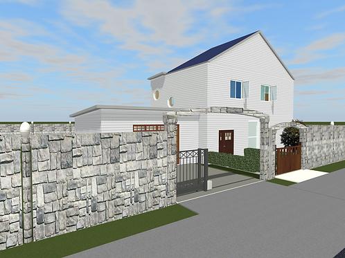 Digital Download: 2 Bedroom, Pool, 2 Car Garage, Residential