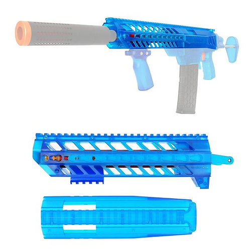 Nerf Retaliator - Worker SIG SAUER MCX Body Kit (Blue Transulent)
