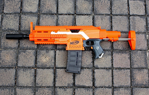 Nerf Stryfe - XSW HK416c Body Kit (3D Printed)