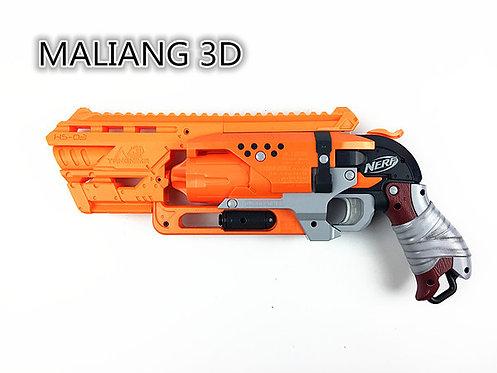 Nerf Hammershot - MaLiang 3D HS03 Body Kit (3D Printed Orange)