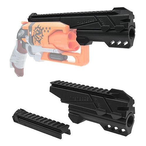Nerf Hammershot - MaLiang 3D HS01A Body Kit (3D Printed Black)