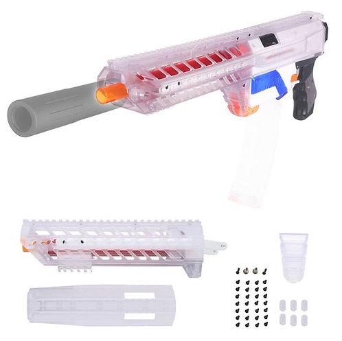 Nerf Retaliator - Worker SIG SAUER MCX Body Kit (Clear)