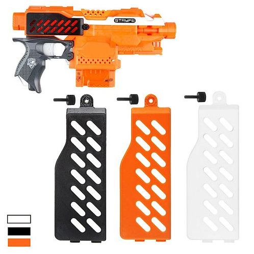 Nerf Stryfe - F10555 Extend Battery Door (3D Printed)