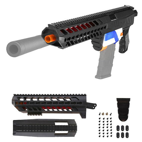 Nerf Retaliator - Worker SIG SAUER MCX Body Kit (Dark Transulent)