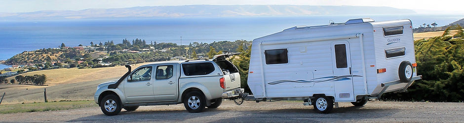 4wd towing a caravan