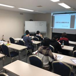 10/28 第11期分子栄養学実践講座 札幌校 セミナー後報告