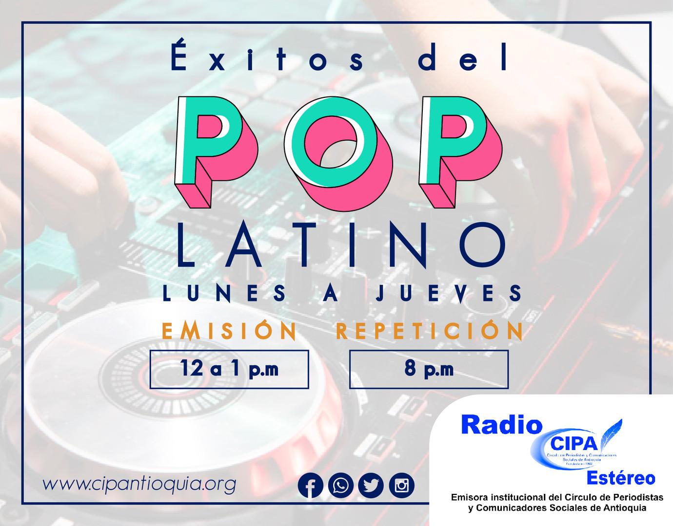 Éxitos del pop latino