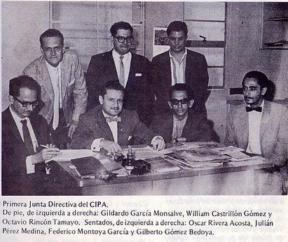 Primera  Junta Cipa  Julian Perez Medina