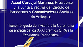 El CIPA entregará los XXXI CIPA y anuncia algunos premiados